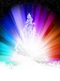 mall för 8 färgrik eps-stjärnor Royaltyfri Fotografi