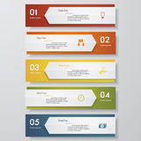 Mall för baner för designrengöringnummer vektor Royaltyfria Bilder