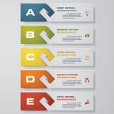 Mall för baner för designrengöringnummer vektor Fotografering för Bildbyråer