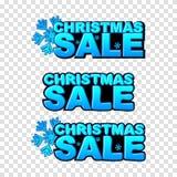 Mall för julförsäljningsvektor vektor Royaltyfria Foton