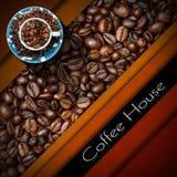Mall för kaffehusmeny Fotografering för Bildbyråer