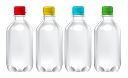 Mall för modell för flaska för fruktfruktsaft royaltyfri foto