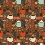 Mall för reklamblad för kaffeavbrott Broschyr baner, inbjudan, broch Arkivbilder