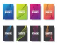 Mall f?r grafisk design f?r information om vektor royaltyfri illustrationer