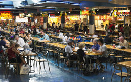Mall food court Royalty Free Stock Images