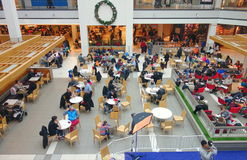 Mall Food Court Stock Image