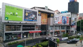 A mall in haryana ncr area. Mall in haryana Royalty Free Stock Photo