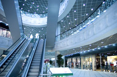 Mall interior Royalty Free Stock Photography