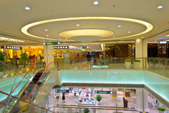 Mall interior Royalty Free Stock Images