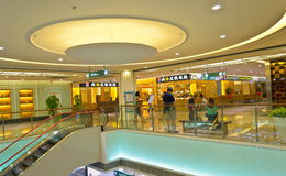 Mall interior Stock Photography