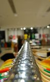 Mall interior. Shallow depth of field. No brand names or recognizable faces Stock Images