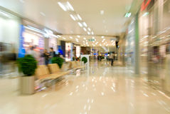 Mall Interior Royalty Free Stock Image