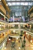 Mall interior in Prague, Czech Republic. Stock Photo