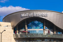 Mall of Istanbul. Istanbul, Turkey - December 5, 2016: Exterior view of Mall of Istanbul or MOI, Turkey`s largest shopping mall and complex opened May 2014 in Stock Photo