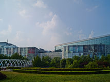 Mall in Jinan, the capital of eastern China's Shandong province Stock Photos