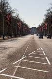 The Mall. Leading to Buckingham Palace, London, England Stock Image