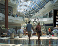 Mall at Millenia interior Stock Photos