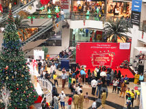Mall in Mumbai. The Christmas and New Year Sale at Infiniti Mall Malad Mumbai Stock Images
