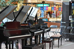 Mall Piano Concert Royalty Free Stock Photography