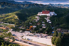 Mall Potala Palace in Chengde. World heritage --Putuo Temple of cases located in the northern part of Chengde Mountain Resort, built in the Qing Emperor Qianlong Stock Photography
