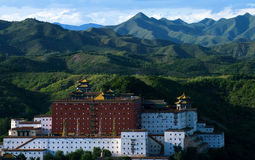 Mall Potala Palace in Chengde Royalty Free Stock Image