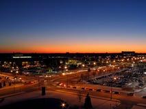 Mall-Querstraße Stockfoto