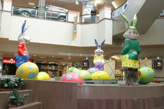 Mall - ready for Easter Royalty Free Stock Images