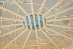 Mall roof. Of the building structure. In Shenzhen, China Stock Image