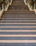 Mall`s Granite Staircase Royalty Free Stock Photo