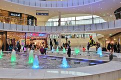 Mall of Scandinavia Stock Photography