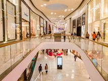 Mall of Scandinavia in Stockholm EDITORIAL. Stockholm, Sweden - may 05, 2018: Mall of Scandinavia in Stockholm EDITORIAL Royalty Free Stock Photos