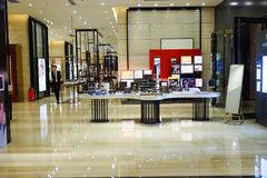 Mall shopping mall interior Royalty Free Stock Photography