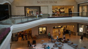 The Mall at Short Hills in New Jersey. It is one of the most expensive malls in the US with 160 specialty stores of international and luxury retailers Stock Photography