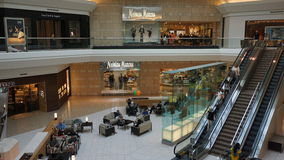 The Mall at Short Hills in New Jersey. It is one of the most expensive malls in the US with 160 specialty stores of international and luxury retailers Stock Photo