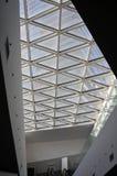 Mall skylight design. Modern mall skylight design with glasses Royalty Free Stock Photos