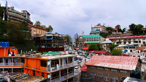 Mall-Straße Murree Pakistan Stockfotografie