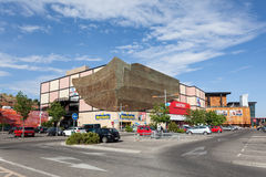 Mall in Toledo, Spanien Stockfoto