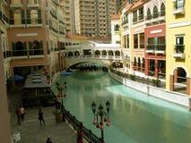 Mall Venedigs Grand Canal, McKinley-Hügel, Taguig, Philippinen Stockfotos