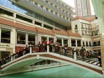 Mall Venedigs Grand Canal, McKinley-Hügel, Taguig, Philippinen Lizenzfreie Stockfotos