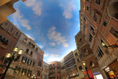 Mall in The Venetian Macao Royalty Free Stock Photo