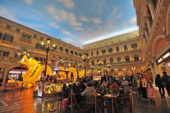 Mall in The Venetian Macao Stock Photography
