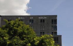 MALL VON BERLIN-GEBÄUDE Lizenzfreies Stockfoto