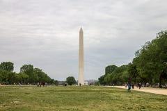 The Mall Washington DC. The Mall and the Obelisk, Washington DC Royalty Free Stock Images