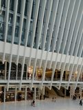 The Mall At The World Trade Center. New York, New York Stock Photos