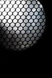 Malla abstracta del panal con la luz de la esfera Foto de archivo