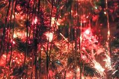 Malla brillante del árbol de navidad Imágenes de archivo libres de regalías