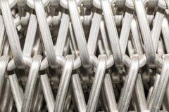 Malla de alambre de acero Imagen de archivo libre de regalías