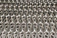 Malla de alambre de acero Imagen de archivo
