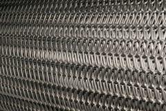 Malla de alambre de acero Fotos de archivo