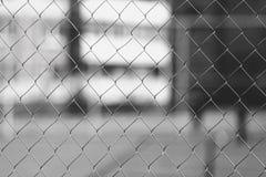 Malla de la cerca Fotografía de archivo